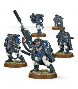Warhammer 40,000: Space Marines (Scout Squad with Sniper Rifles)