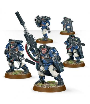 Warhammer 40,000: Space Marine - Scout Squad with Sniper Rifles