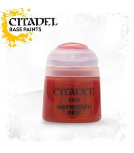 Pintura Citadel: Base Mephiston Red