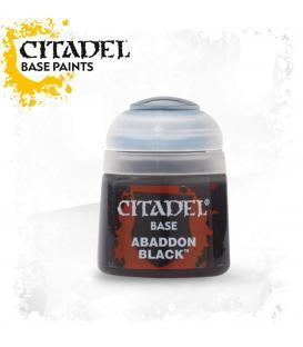 Pintura Citadel: Base Abaddon Black