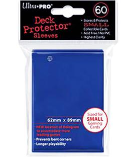 60 Fundas Ultra Pro (62x89mm) Mini Deck Protector - Azul