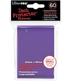 60 Fundas Ultra Pro Mini Deck Protector - Morado (62x89 mm)