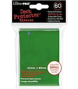 60 Fundas Ultra Pro (62x89mm) Mini Deck Protector - Verde