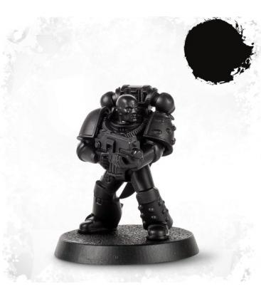 Spray de Imprimación Citadel: Chaos Black