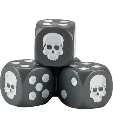 Cubo de Dados Warhammer - Gris (20)