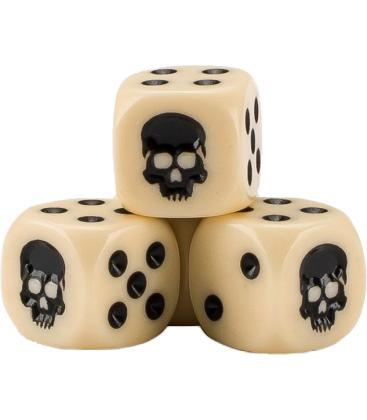 Cubo de Dados Warhammer - Hueso (20)