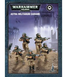 Warhammer 40,000: Astra Militarum (Cadians) (Easy to Build)
