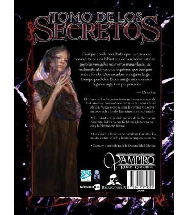 Vampiro Edad Oscura: Tomo de los Secretos