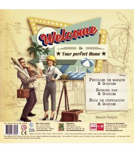 Welcome Hacia el Perfecto Hogar: Bloc de Puntuación de Recambio