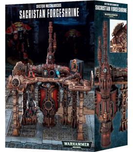 Wahammer 40,000: Sector Mechanicus - Sacristan Forgeshrine