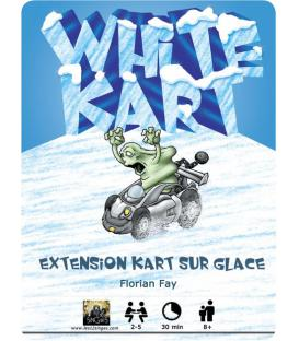 Kart on Ice: White Kart