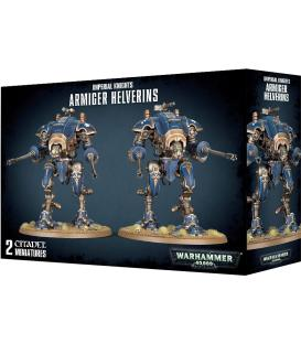 Warhammer 40,000: Imperial Knights - Armiger Helverins