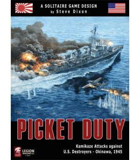 Picket Duty: Kamikaze Attacks against U.S. Destroyers - Okinawa 1945 (Inglés)