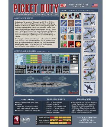 Picket Duty: Kamikaze Attacks against U.S. Destroyers - Okinawa 1945 (Inglés)