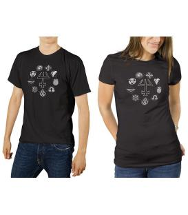 Mago La Ascensión: Camiseta Negra Recta XL