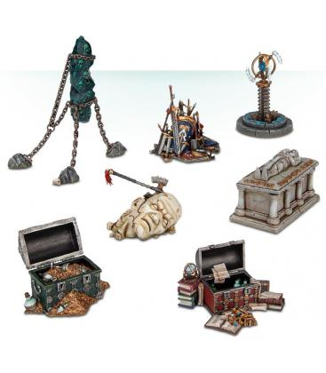 Warhammer Age of Sigmar: Objetivos de Dominio Destrozado