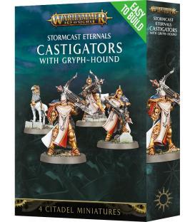 Warhammer Age of Sigmar: Stormcast Eternals Castigators with Gryph-Hound
