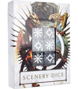 Warhammer Age of Sigmar: Dados de Efectos de Escenografía