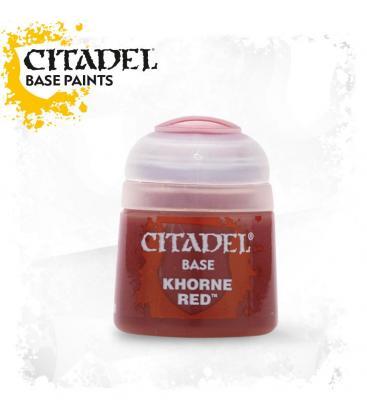 Pintura Citadel: Base Khorne Red
