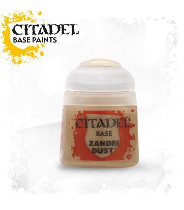Pintura Citadel: Base Zandri Dust