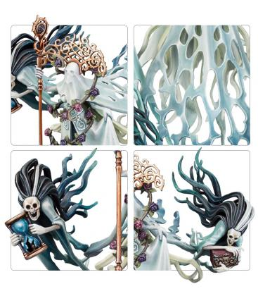Warhammer Age of Sigmar: Nighthaunt Lady Olynder Mortarch of Grief