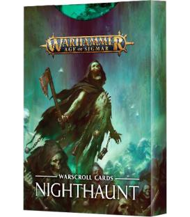 Warhammer Age of Sigmar: Nighthaunt Tarjetas de Unidad