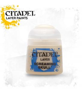 Pintura Citadel: Layer Screaming Skull