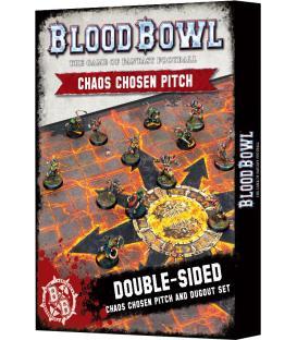 Blood Bowl: Chaos Chosen Pitch and Dugout Set