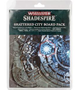 Shadespire: Tablero de Juego Ciudad Destrozada