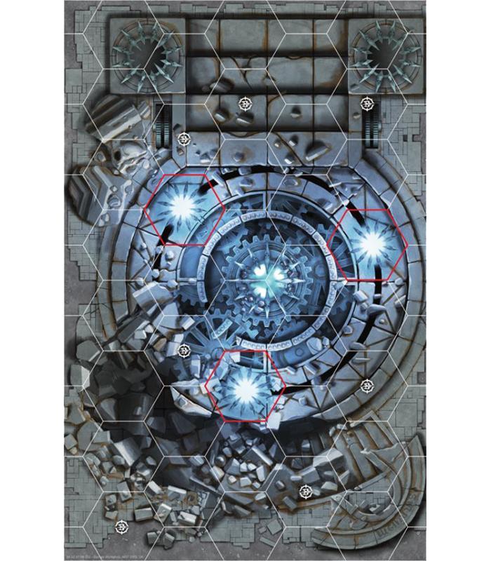 Warhammer Underworlds Shadespire Tablero De Juego Ciudad Destrozada
