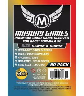 Fundas Mayday Race Formula 90 (55x80mm) PREMIUM (50)