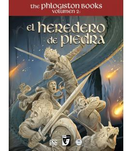 Clásicos del Mazmorreo: The Phlogiston Books 2 - El Heredero de Piedra