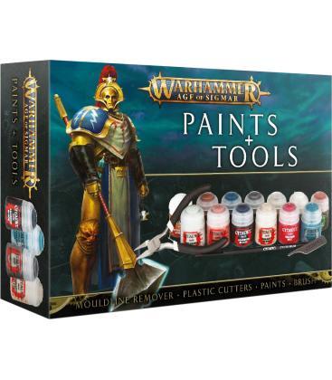 Warhammer Age of Sigmar: Set de Pinturas y Herramientas
