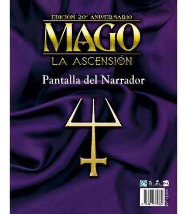 Mago La Ascensión: Pantalla del Narrador