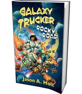 Galaxy Trucker: Libro Rocky Road (Inglés)