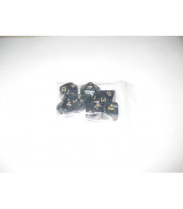 Bolsa 7 Dados: Perla Negro