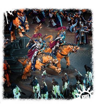 Warhammer Age of Sigmar: Stormcast Eternals (Evocators on Celestial Dracolines)