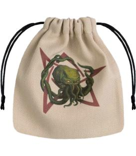 Bolsa Q-Workshop Call of Cthulhu - Pentagrama (Beige)