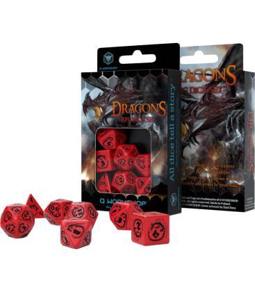 Q-Workshop: Dragons (Rojo/Negro)