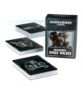 Warhammer 40,000: Space Wolves (Datacards) (Inglés)