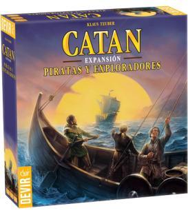 Catan Expansión: Piratas y Exploradores