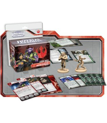 Star Wars Imperial Assault: Sabine Wren y Zeb Orrelios