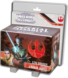Star Wars Imperial Assault: Ezra Bridger y Kanan Jarrus