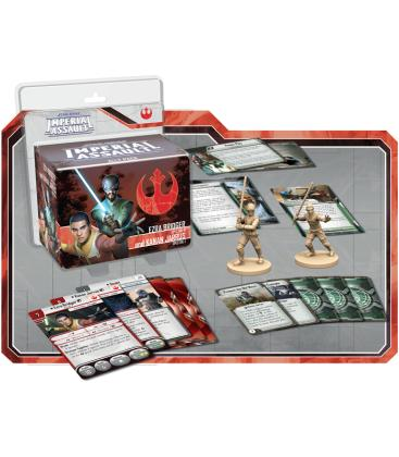 Star Wars Imperial Assault: Ezra Bridger y Kanan Jarrus