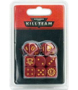 Warhammer Kill Team: Adeptus Mechanicus Dice