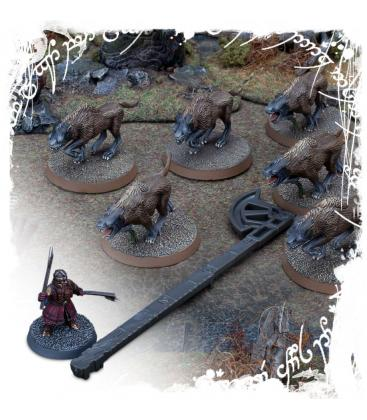 Middle-Earth Strategy Battle Game: The Lord of the Rings Range Measurers