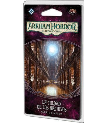 Arkham Horror LCG: La Ciudad de los Archivos / La Era Olvidada 4