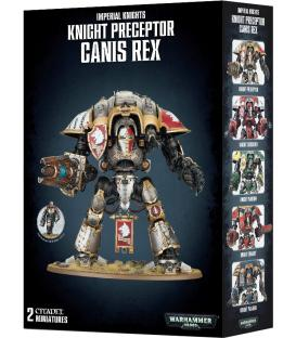 Warhammer 40,000: Imperial Knights - Knight Preceptor Canis Rex