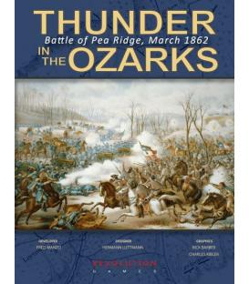 Thunder in the Ozarks: Battle of Pea Ridge, March 1862 (Inglés)