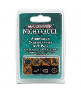 Warhammer Underworlds Nightvault: Stormsire's Cursebreakers (Pack de Dados)